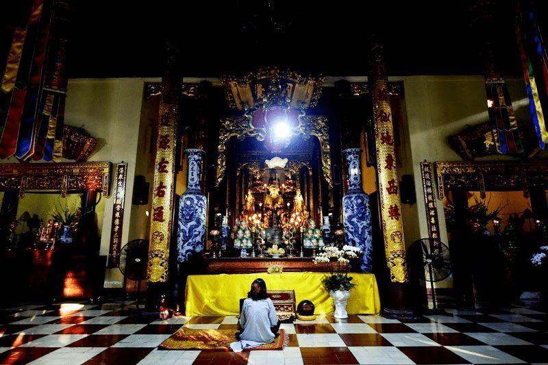 Chùa Quán Sứ, Đền chùa, Chùa nổi tiếng, chùa cầu duyên, Hà Nội, Tour Hà Nội, Địa điểm chụp ảnh, Lễ phật đản