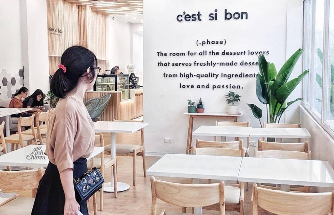 C'est Si Bon, The YLang, Cup Of Tea, quán Cafe, quán Cafe Hà Nội, Tour Hà Nội, Địa điểm ăn uống, Quán ngon, Quán cafe đẹp, Café Nhà 41, Dear November Coffee, Nhà 9NKC, Maison de Éte, The Coffee House, Cư Xá Café, An Café, Noth Cake, Thi Ca Café, Baked by Julie, Foglian Coffee, The Rustics Coffee, Kone Café, Cafe Lissom Parlour