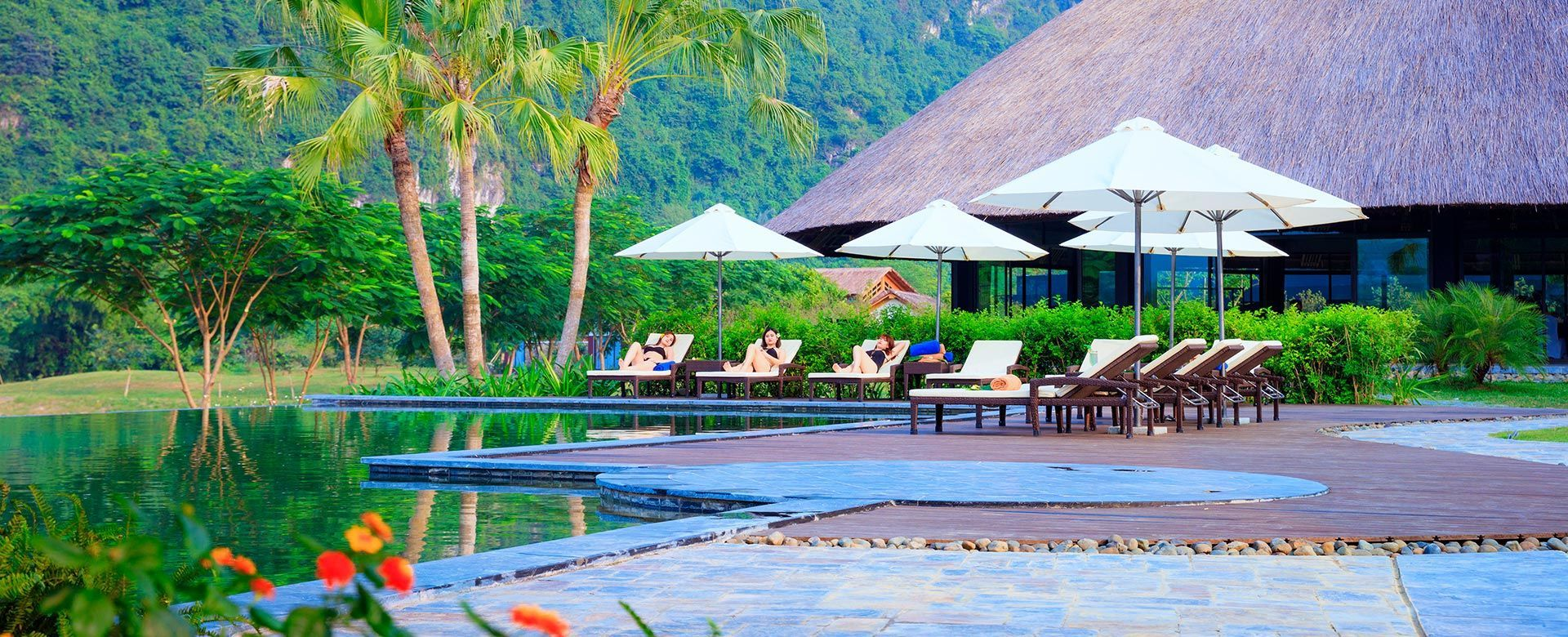Image result for serena resort hòa bình