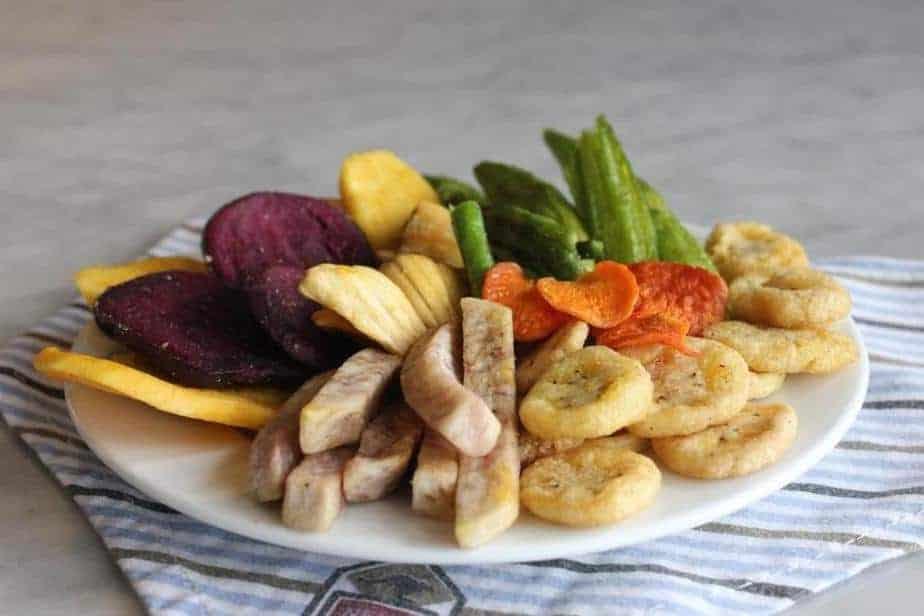 Các loại rau củ quả được sấy khô để bảo quản lâu hơn - dulichso.vn - Dichvuhay.vn