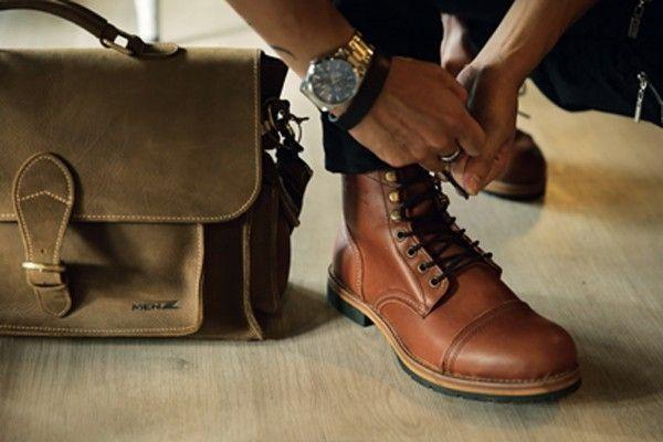 Một số mẫu giày cổ cao MenZ - dulichso.vn - Dichvuhay.vn