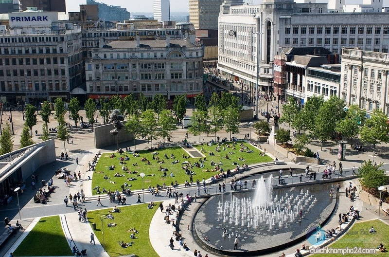 Piccadilly gardens - Baotrithuc.vn
