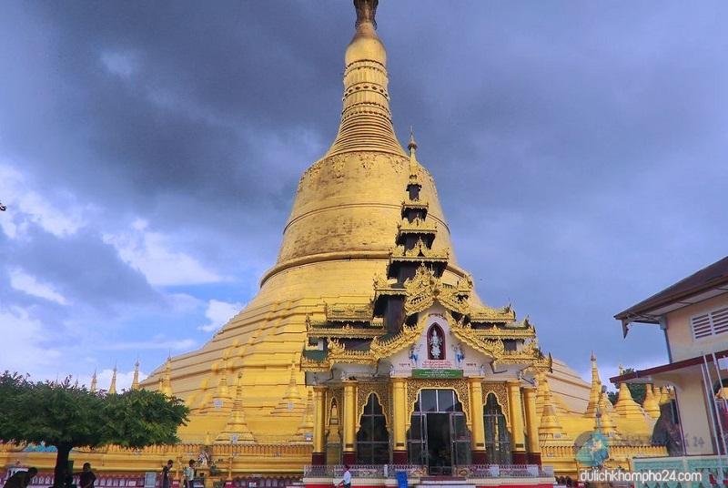 chùa Shwemawdaw - Baotrithuc.vn