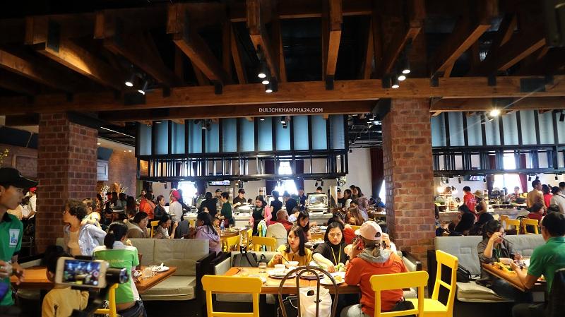 Buffet Bà Nà Hills - Baotrithuc.vn